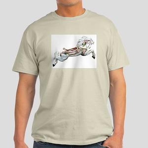 White Jumper Carousel Ash Grey T-Shirt