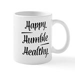 Happy Humble healthy Mugs