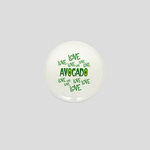 Love Love Avocado Mini Button