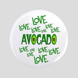 Love Love Avocado Button