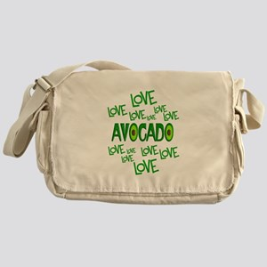 Love Love Avocado Messenger Bag