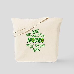 Love Love Avocado Tote Bag