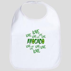 Love Love Avocado Bib