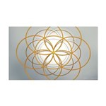 Seed of Life Gold Wall Decal