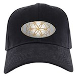Seed of Life Gold Baseball Hat