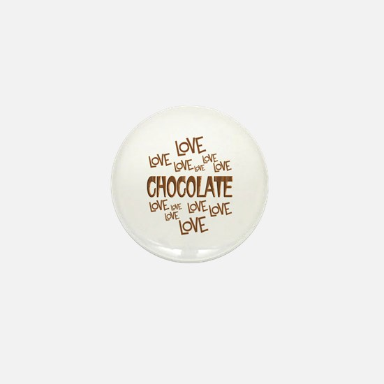 Love Love Chocolate Mini Button