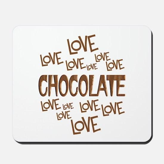 Love Love Chocolate Mousepad