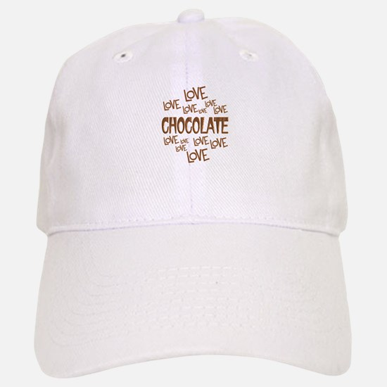 Love Love Chocolate Baseball Baseball Cap