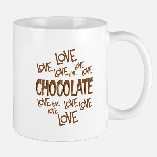 Love Love Chocolate Mug
