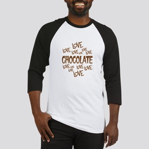 Love Love Chocolate Baseball Jersey