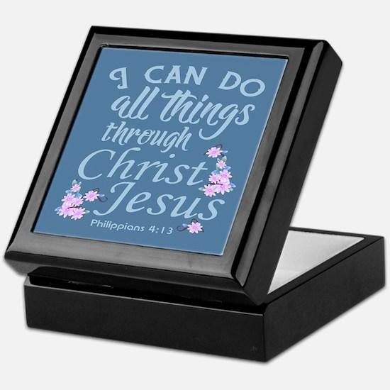 Philippians 4-13 Keepsake Box