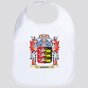 Grady Coat of Arms - Family Crest Bib