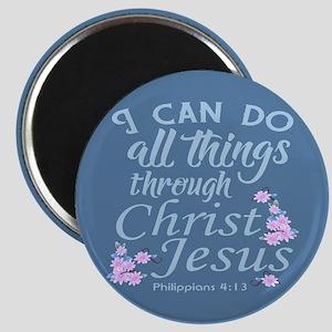 Philippians 4-13 Magnets