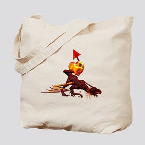 Fiery Dragon Love Tote Bag (DS)