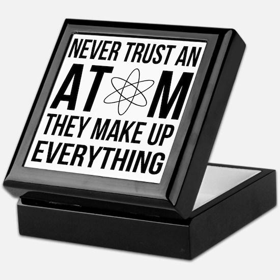 Cute Atom Keepsake Box