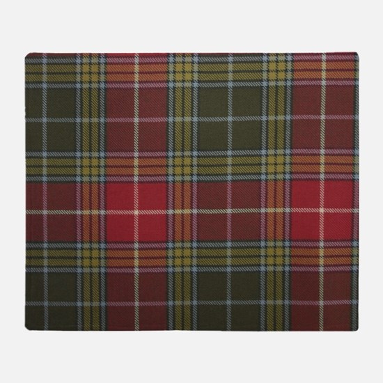 Funny Clan Throw Blanket