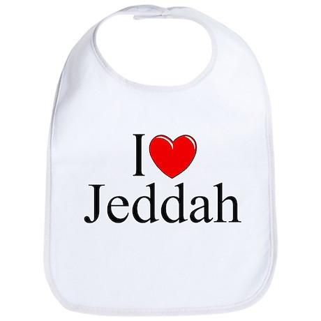 """I Love Jeddah"" Bib"