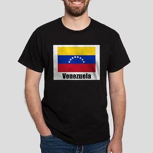 Venezuela Flag Ash Grey T-Shirt
