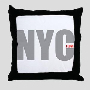 My NYC Throw Pillow