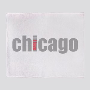 My Chicago Throw Blanket
