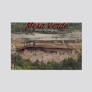 Mesa Verde Rectangle Magnet Magnets