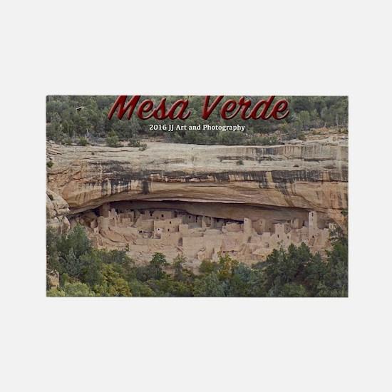 Mesa Verde Rectangle Magnet Magnets
