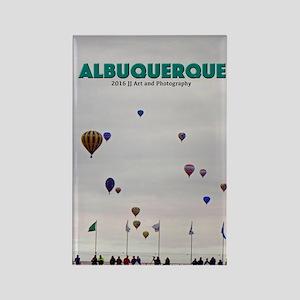 Albuquerque Balloons Rectangle Magnet Magnets