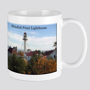 Whitefish Point Lighthouse Fall Mugs