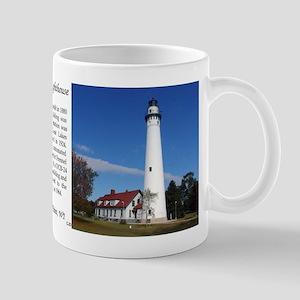 Wind Point Lighthouse Mugs