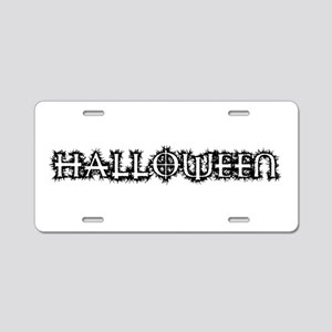 Halloween Aluminum License Plate