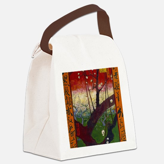 Cool Plum Canvas Lunch Bag