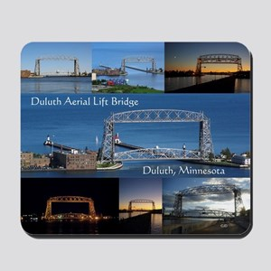 Duluth Aerial Lift Bridge Multi Pict Mousepad