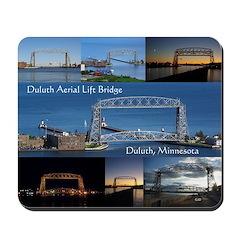 Duluth Aerial Lift Bridge Multi Pict Mousepad