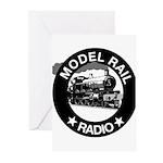 modelrailradio_logo Greeting Cards