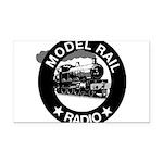 modelrailradio_logo Rectangle Car Magnet