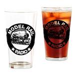 modelrailradio_logo Drinking Glass