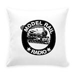 modelrailradio_logo Everyday Pillow