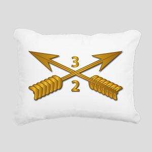 2nd Bn 3rd SFG Branch wo Rectangular Canvas Pillow