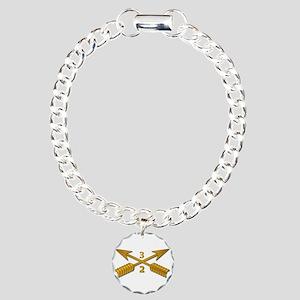2nd Bn 3rd SFG Branch wo Charm Bracelet, One Charm