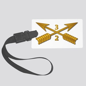 2nd Bn 3rd SFG Branch wo Txt Large Luggage Tag