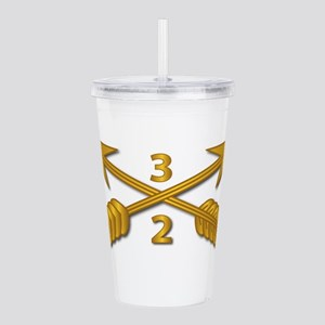 2nd Bn 3rd SFG Branch Acrylic Double-wall Tumbler