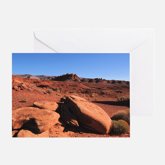 Southwest Desert: Four Corners Greeting Card