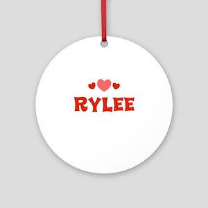 Rylee Ornament (Round)