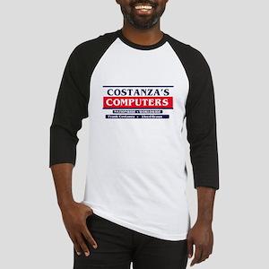 Constanza's Computers Baseball Jersey