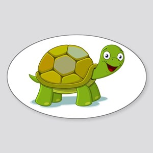 Turtle Sticker (Oval)