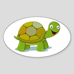 Turtle Sticker (Oval)