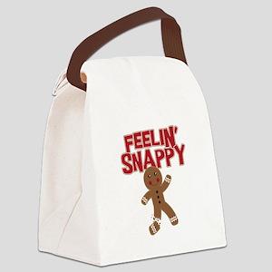 Feelin' Snappy Canvas Lunch Bag