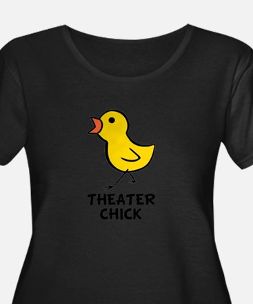 Theater Chick Plus Size T-Shirt
