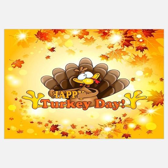 Funny Turkey Wall Art