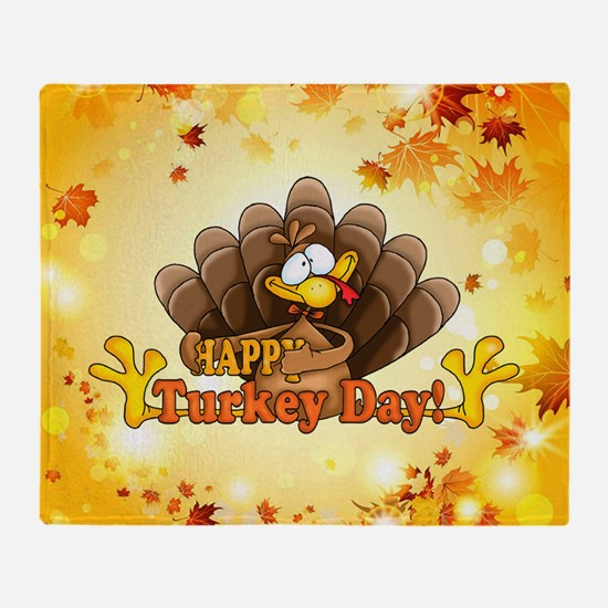 Unique Thanksgiving Throw Blanket